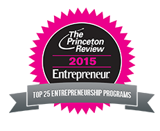 The Princeton Review 2015 - Entrepreneur - Top 25 Entrepreneurship Programs
