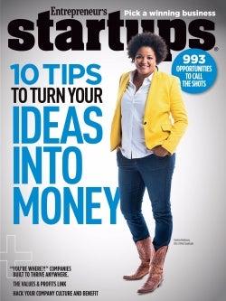 Entrepreneur Startups Magazine - October 2015