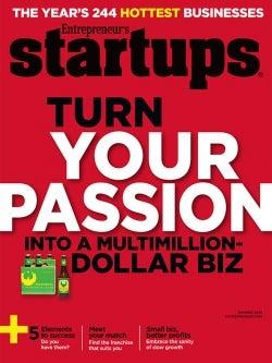 Entrepreneur Startups Magazine - May 2014