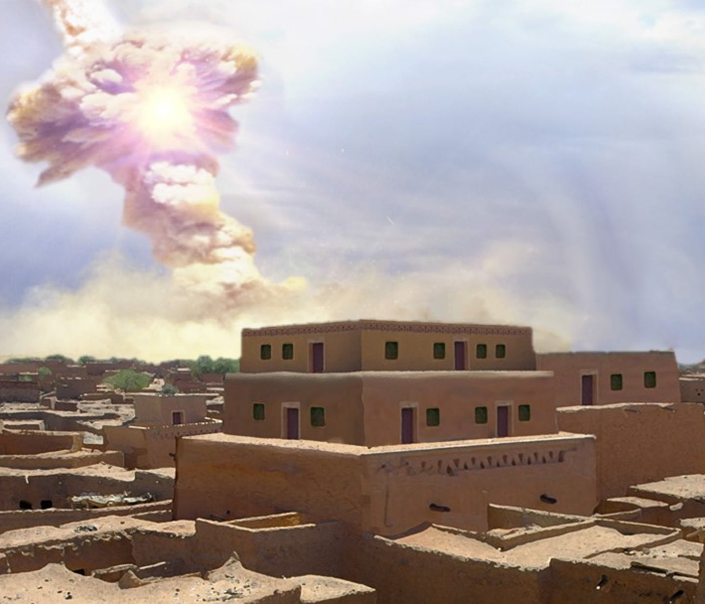 A giant space rock demolished an ancient Middle Eastern city and everyone in it – possibly inspiring the Biblical story of Sodom
