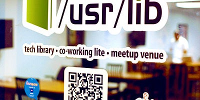 """usr/lib"" Work Lounge"