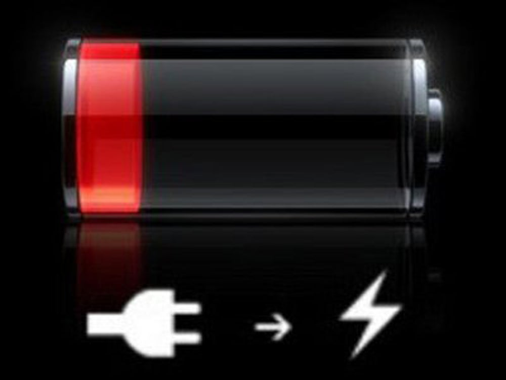You become a battery-life miser on the iPhone.