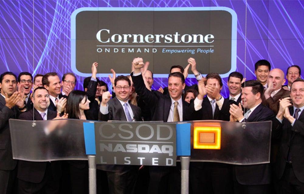 4) Cornerstone OnDemand