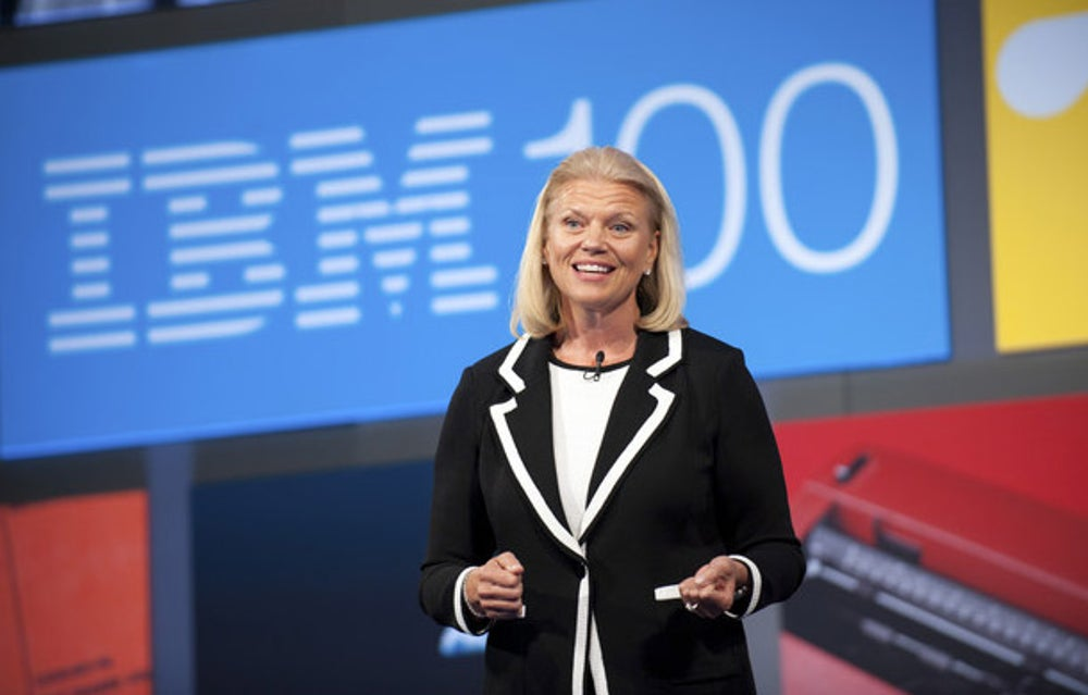 5. Virginia Rometty