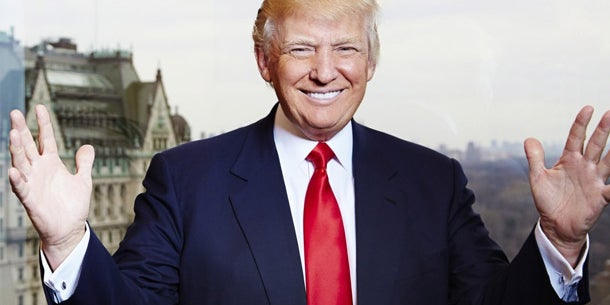 Serial entrepreneur and real-estate mogul Donald Trump
