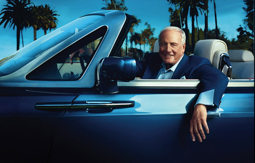 Former CEO of United Artists and film producer Jerry Weintraub