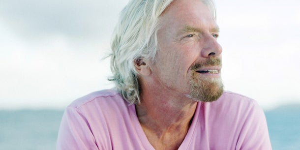 Richard Branson, serial entrepreneur and founder of Virgin Group