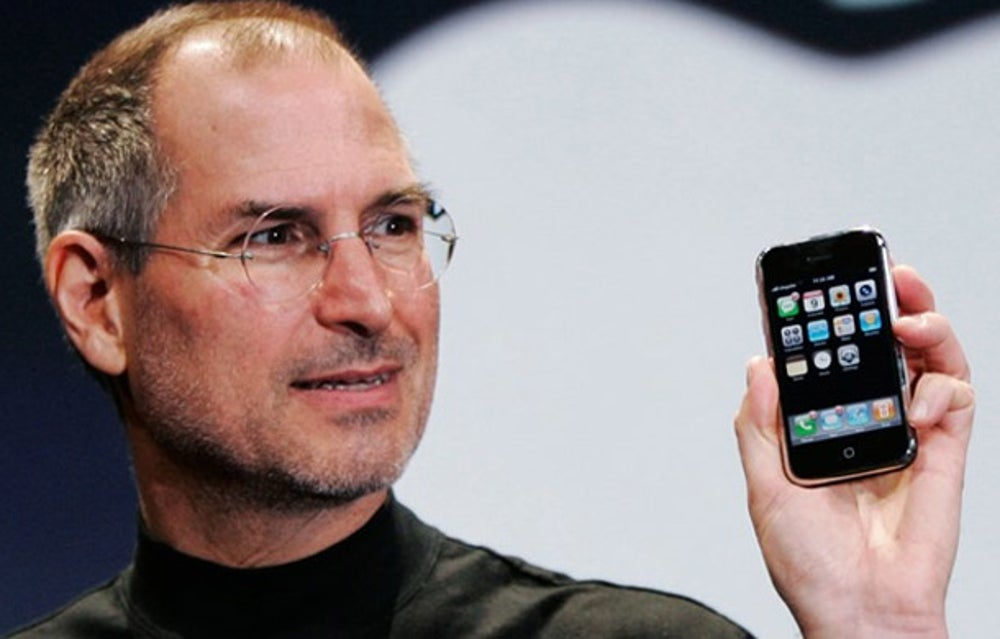 Steve Jobs, co-founder and former CEO of Apple