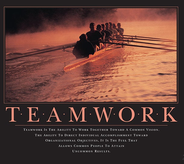 Success Quotes Teamwork: 10 Iconic Motivational Posters