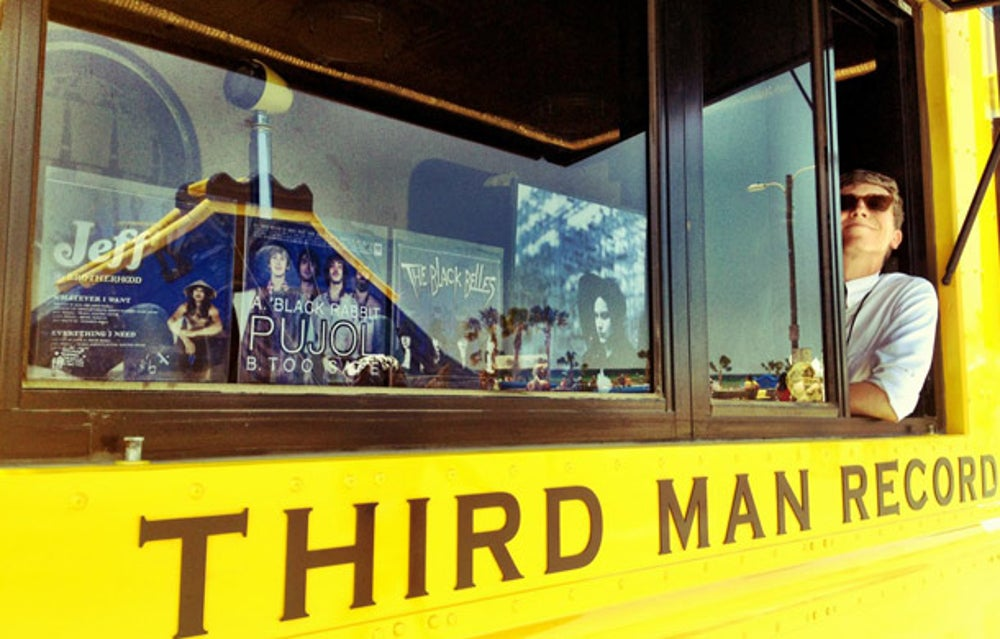 Third Man Records Rolling Record Store