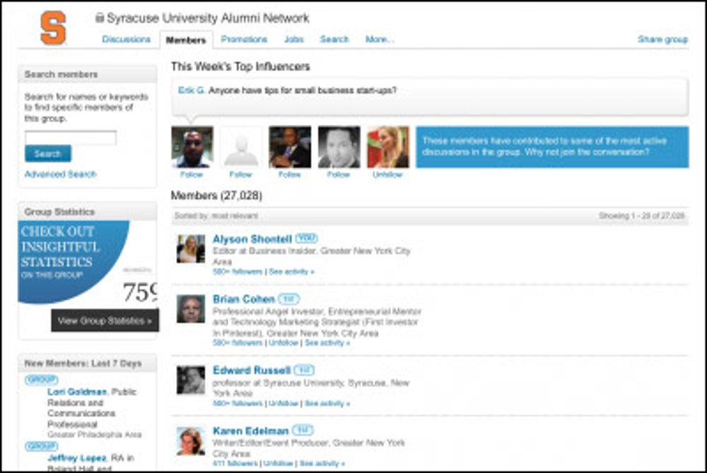 You haven't created an exclusive LinkedIn group for your employees