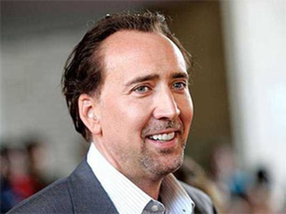 "Nicholas Cage won't eat pork because he doesn't think the animals have ""dignified sex."""