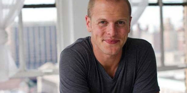 Entrepreneur and author Tim Ferriss: You are who you associate with.