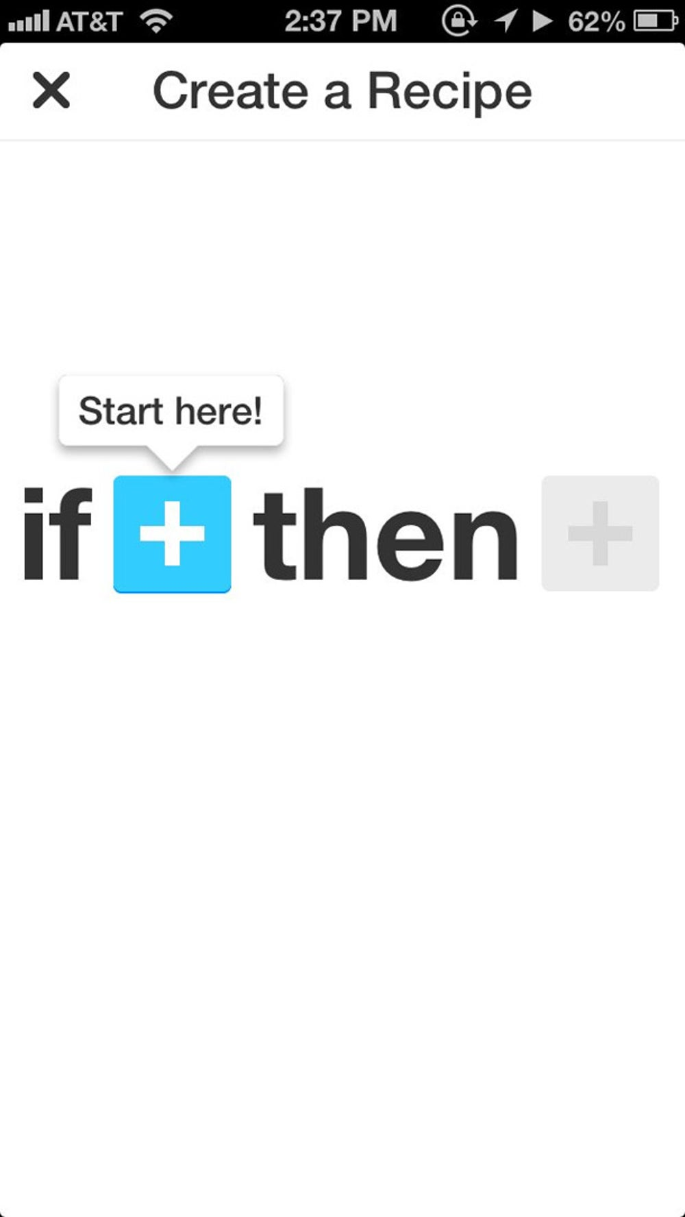 Besides using recipes that others created, IFTTT lets you create your own too.