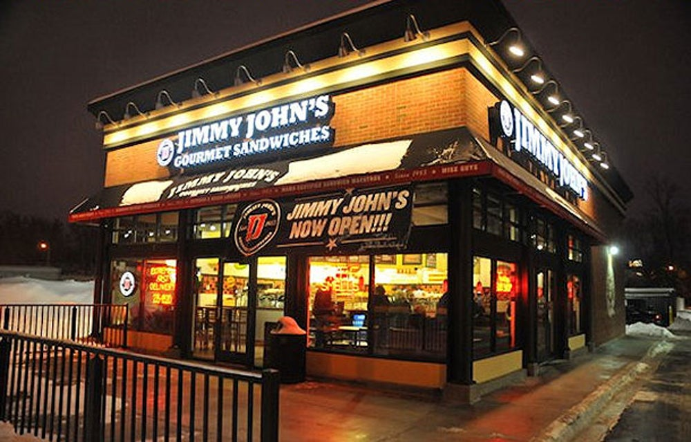 No. 5   Jimmy John's Gourmet Sandwiches