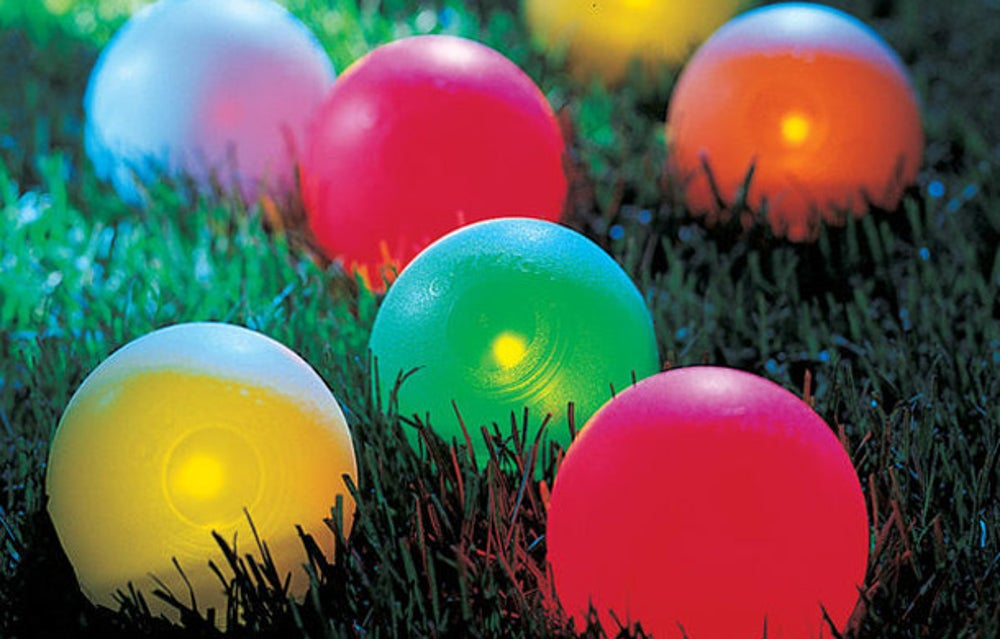 Playaboule Lighted Bocce Ball Set