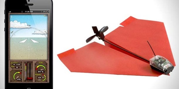 A Smartphone-Powered Paper Airplane Jet