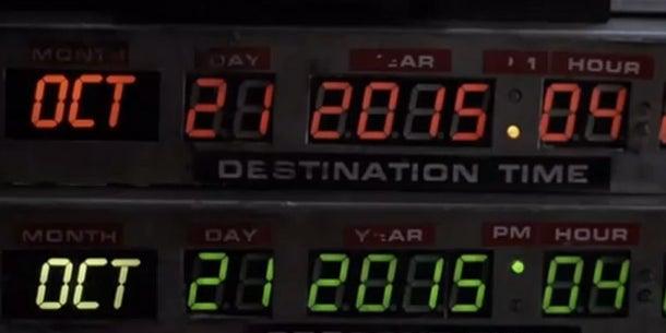 False: He won't arrive until 2015