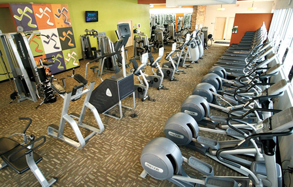 No. 1   Anytime Fitness