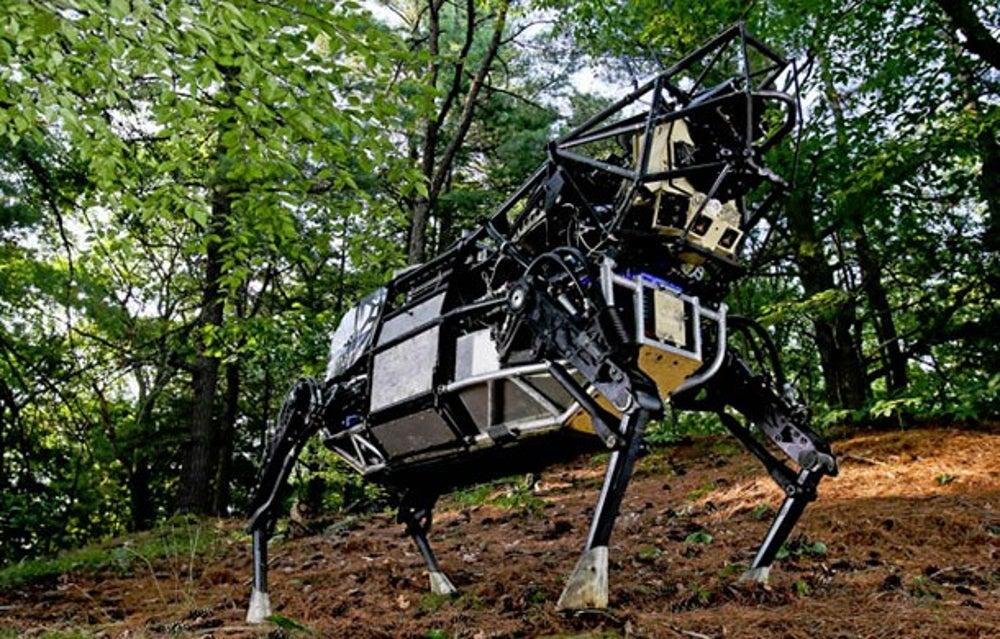 Google's 'Terminator' robots.
