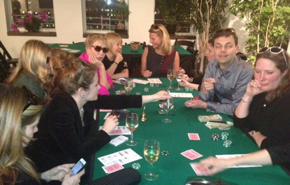 Wafia (Women's Mafia) Poker Night