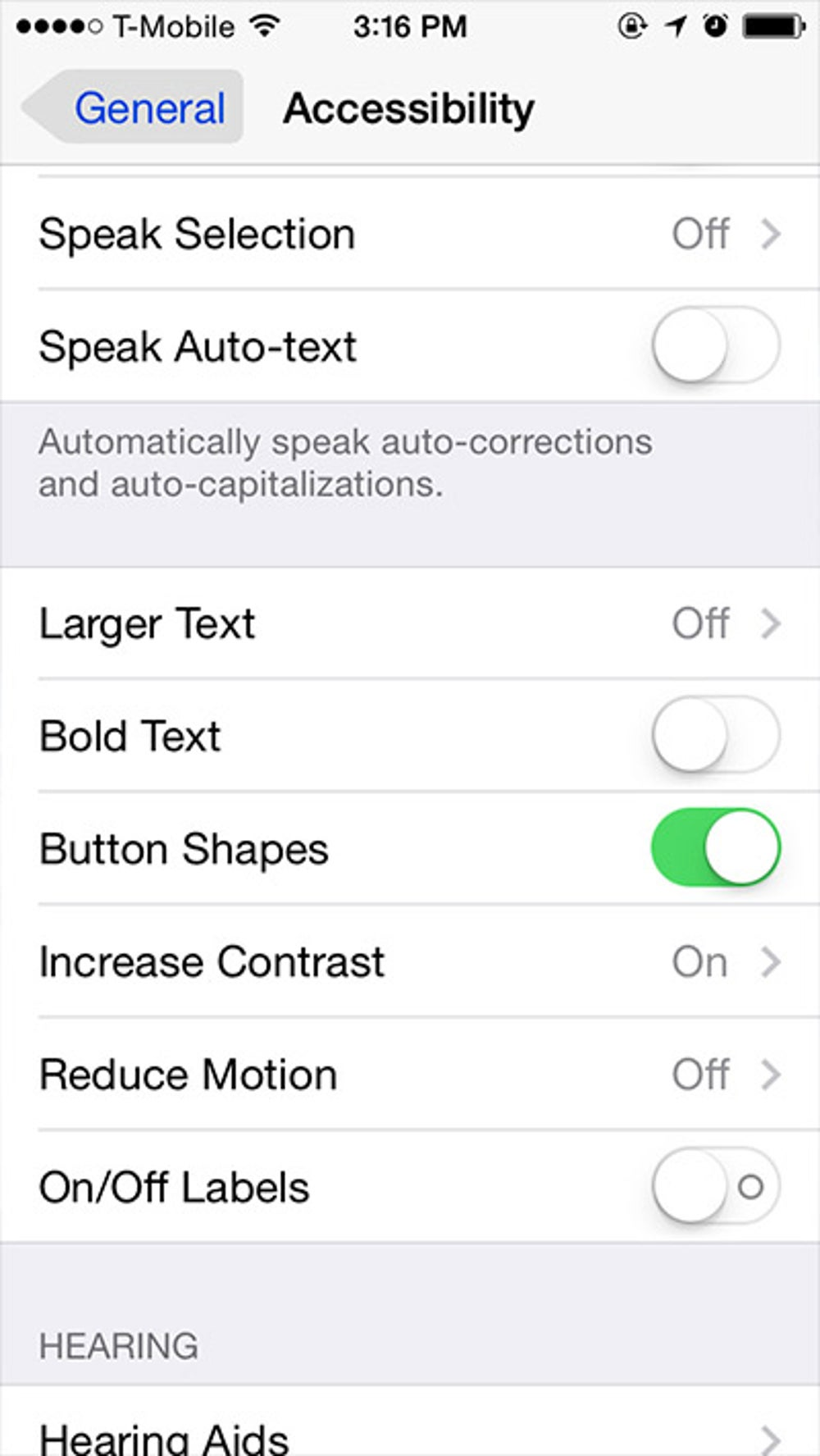 If their location wasn't clear before, there's now an option to put shading around text on buttons.