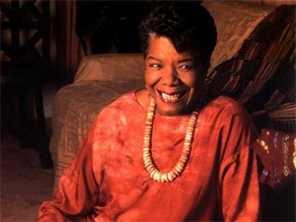 Maya Angelou kept a hotel room to block everything out and write her best works.