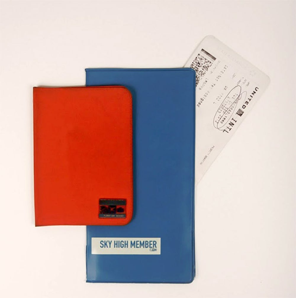 Ticket wallet and passport cover