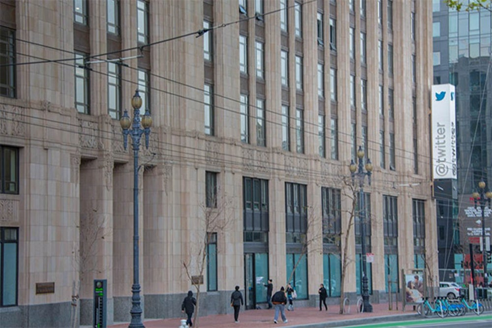 This building stood vacant for 50 years before Twitter moved its headquarters here.