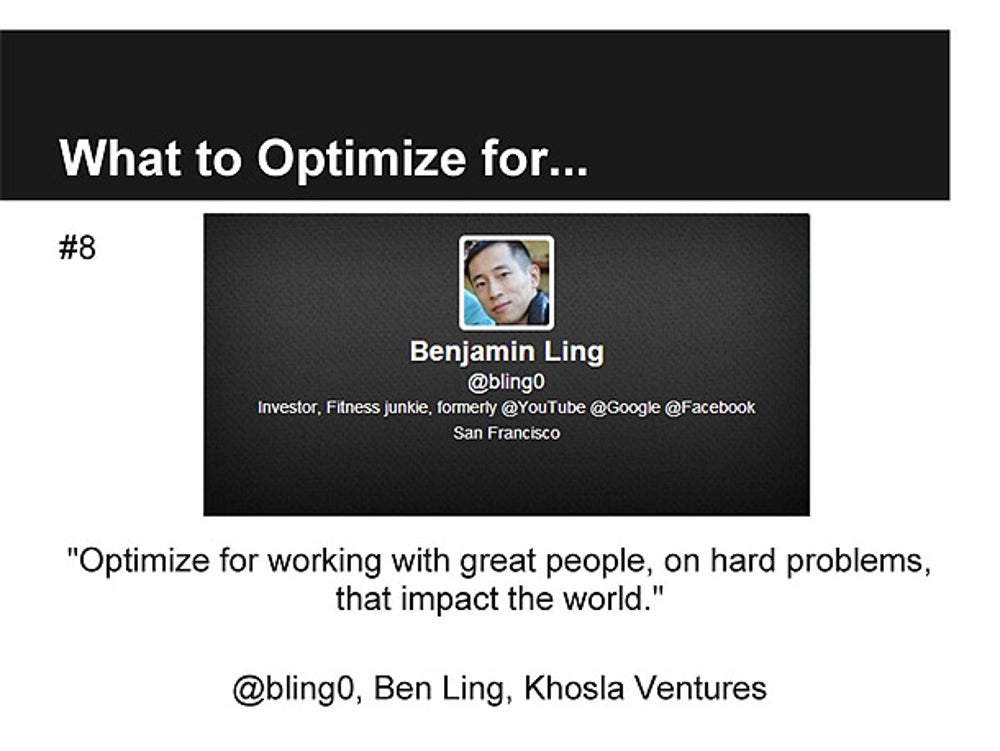 Ben Ling, Partner at Khosla Ventures