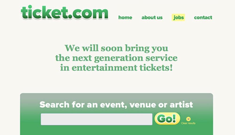Ticket.com — $1,525,000