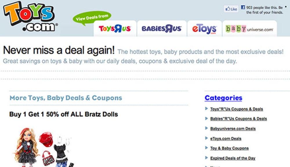 Toys.com — $5,100,000