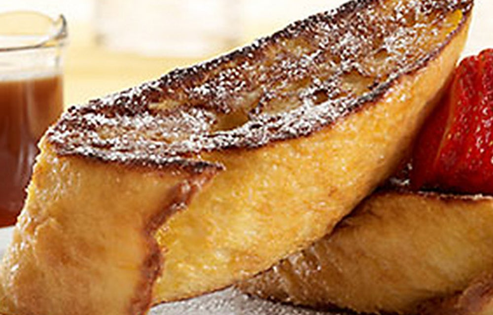 Bruléed French Toast at The Cheesecake Factory's