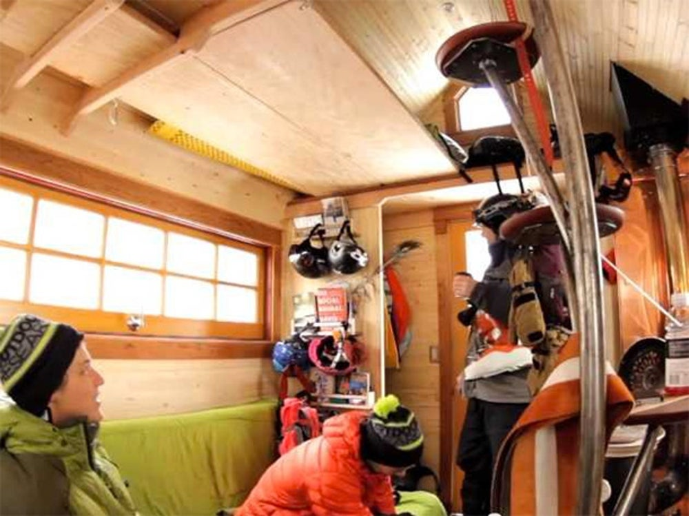 This 112 square-foot mobile house traveled across 9,000 miles.