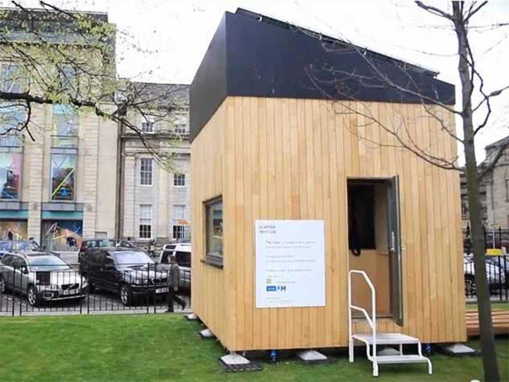 This 100 square-foot environmentally-friendly house will actually earn you money.