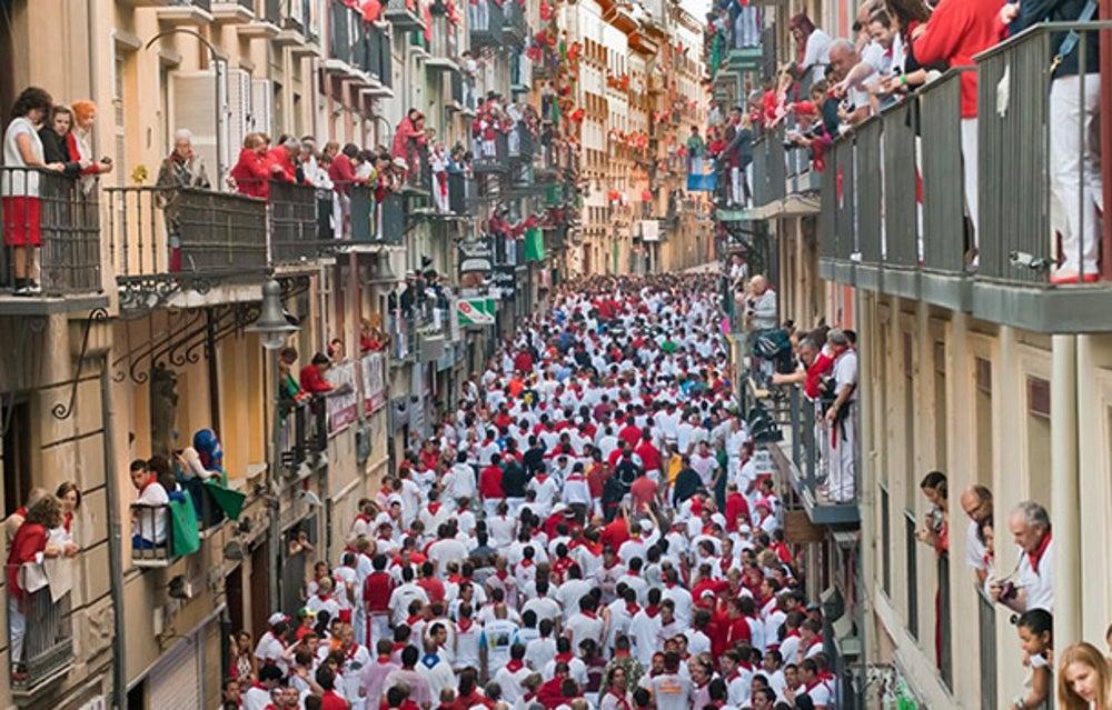 #3 Spain: 60.7 million visitors
