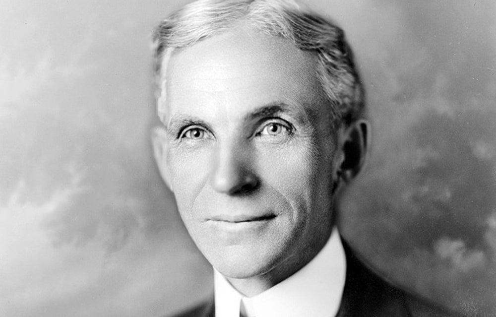 Henry Ford was 45 when he created the revolutionary Model T car.
