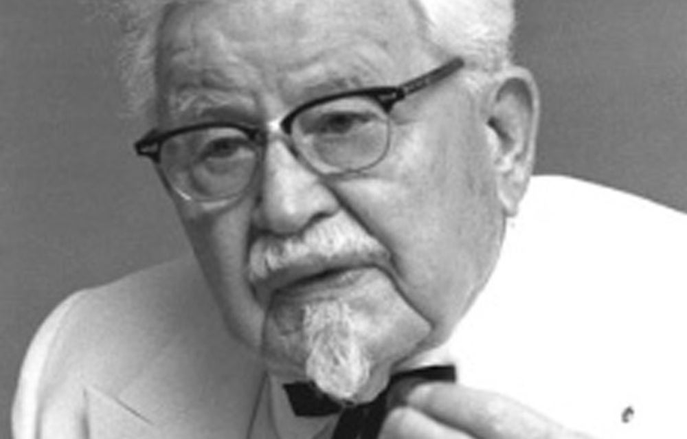 Harland Sanders, better known as Colonel Sanders, was 62 when he franchised Kentucky Fried Chicken in 1952, which he would sell for $2 million 12 years later.