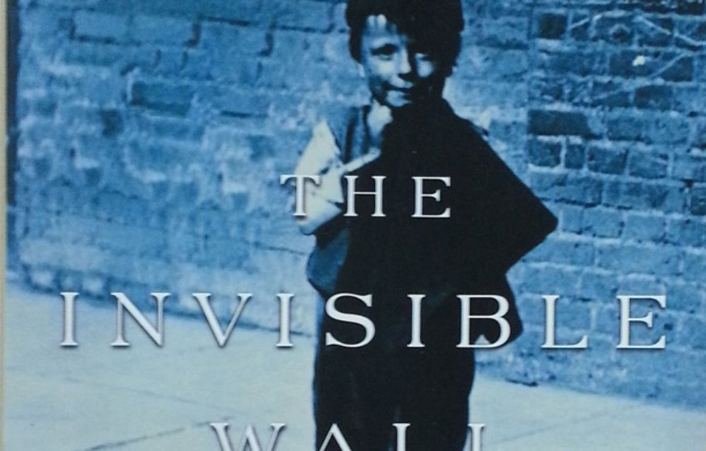 """Harry Bernstein spent a long life writing in obscurity, achieving notoriety at long last at age 96 for his 2007 memoir """"The Invisible Wall: A Love Story That Broke Barriers."""""""