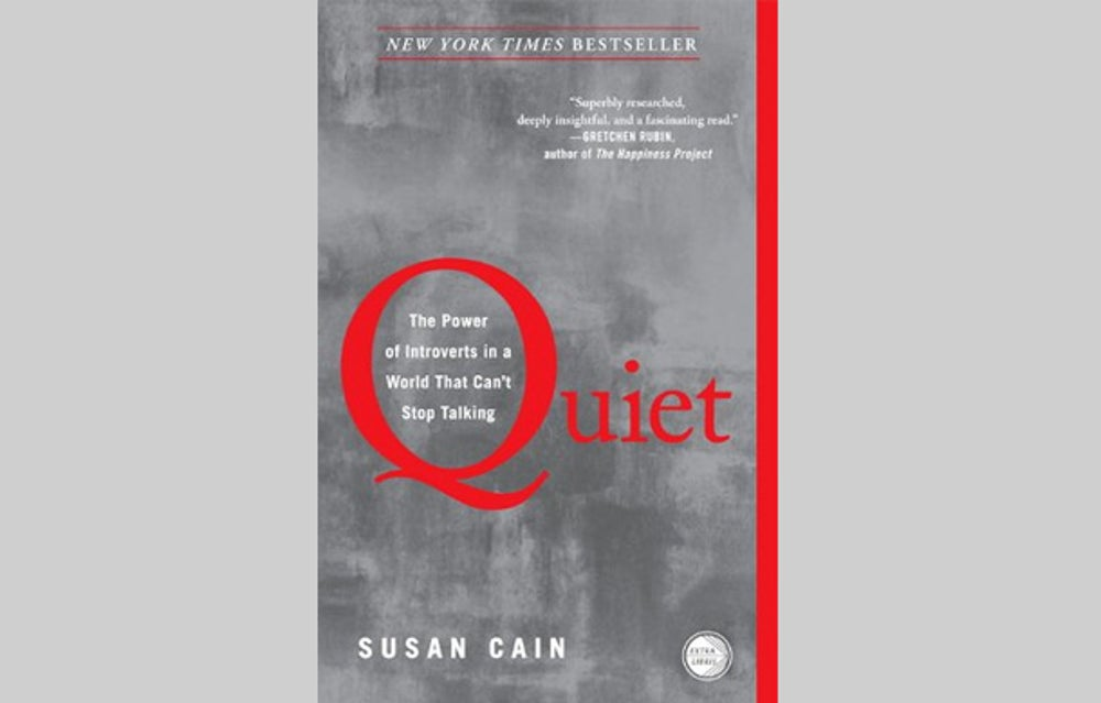 """""""Quiet: The Power of Introverts in a World That Can't Stop Talking"""" (2012)"""