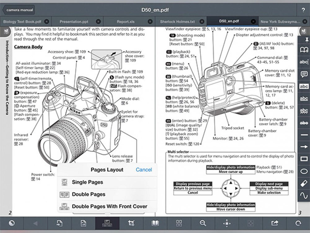 GoodReader is your trusty app for reading virtually any file. iTunes