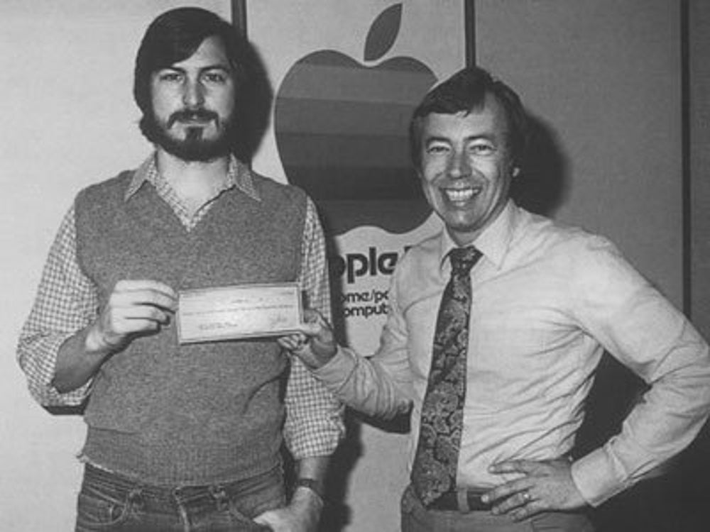 Mike Markkula joined Apple after Steve Wozniak and Steve Jobs. He was the then-startup's money man.