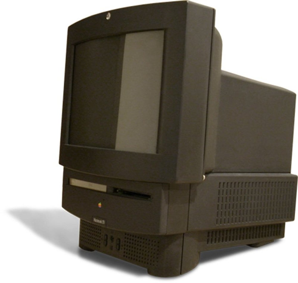 Before the Apple TV was even a twinkle in Steve Jobs' eye, Apple released the Macintosh TV in 1993. It was incapable of displaying TV on the desktop and sold only 10,000 units.