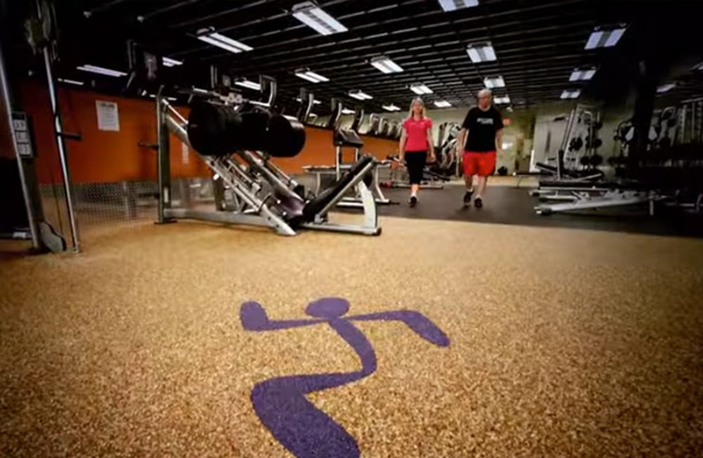 2. Anytime Fitness