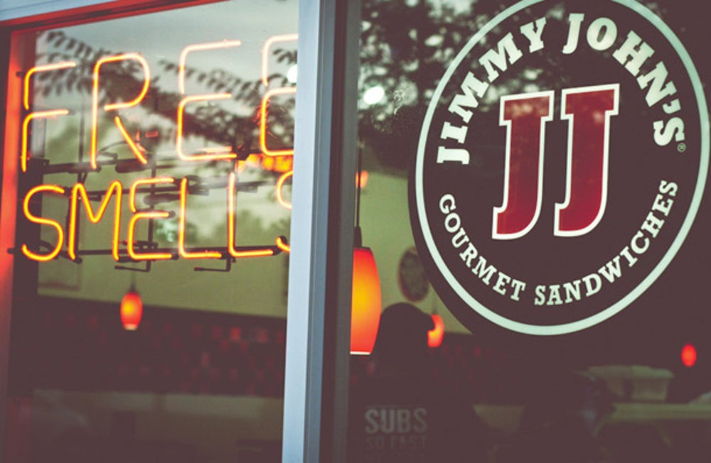 6. Jimmy John's Gourmet Sandwiches