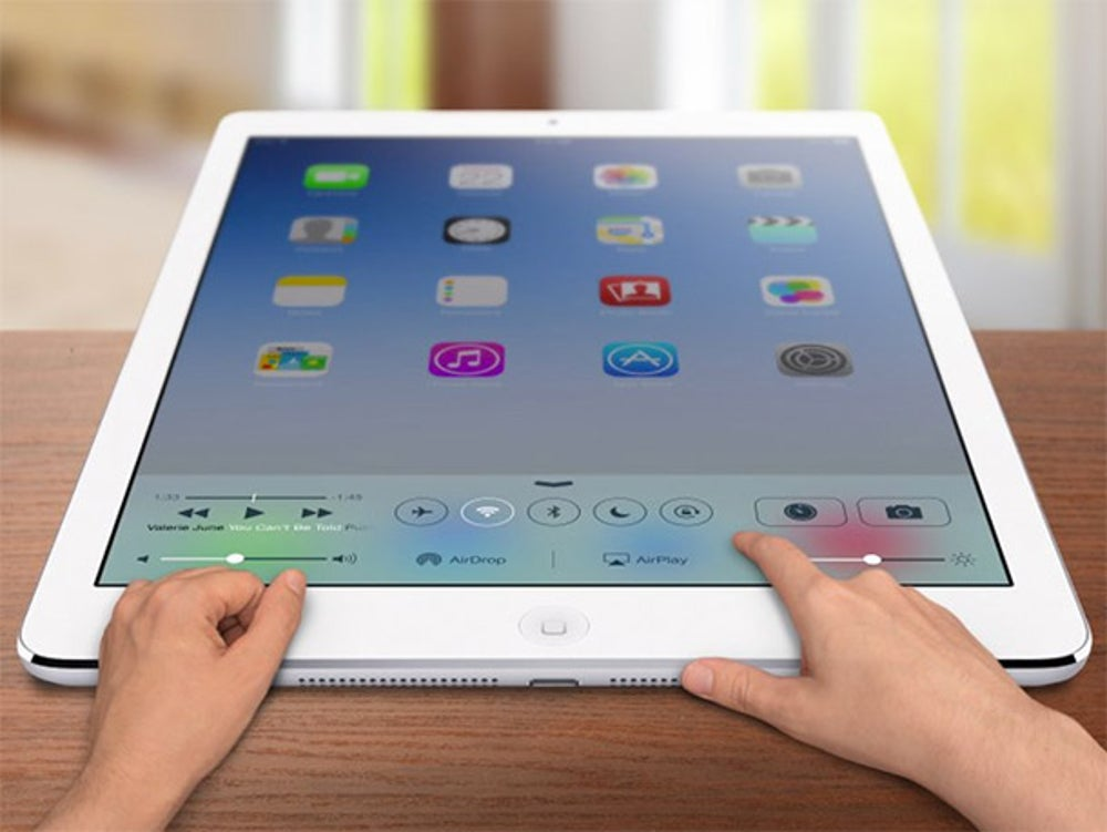 Apple is working on an even larger version of the iPad.