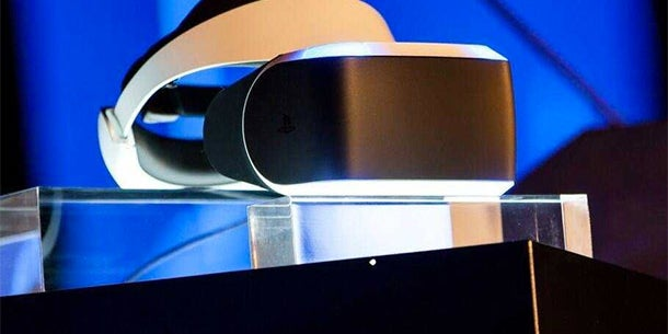 Sony's VR headset is coming soon too.