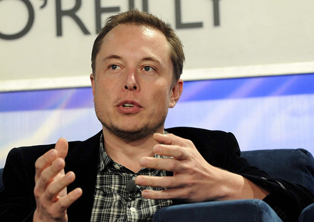 1. Elon Musk—CEO, Tesla and CEO, SpaceX