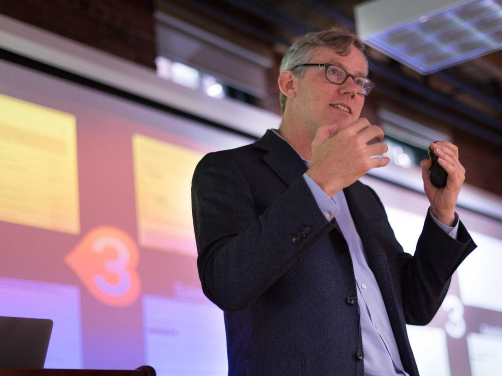 HubSpot cofounder and CEO Brian Halligan will try to nap and meditate as much as possible.