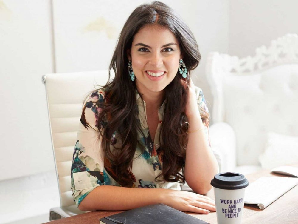 Founder and CEO of Levo League Caroline Ghosn hopes to cultivate happiness.